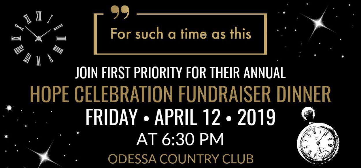 First Priority Permian Basin Fundraiser